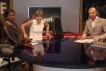 GHANA 69 (ACCRA, NUESTRA INTEVIU EN LA TELEVISION TV3 DE GHANA) SEGUN LOS LOCUTORES TODO SALIO FENOMENAL A PESAR DE DESORDEN QUE HABIAMOS CREADO EN EL PLATO