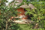 GHANA 91 (POR LA COSTA DE GHANA - PLAYAS ANKOBRA) UN BUNGALOW ANKOBRA BEACH RESORT