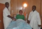 COSTA DE MARFIL 15 (ABIDJAN) MALARIA... LOS MEDICOS ME HAN DICHO BIENVENIDO A AFRICA USTED ESTA INFESTADO POR EL PLASMODIUM FALCIPARUM !!!!! LA MALARIA ¡¡¡¡¡