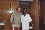 COSTA DE MARFIL 17 (ABIDJAN) MALARIA... MI ENFERMERA ME HA DICHO QUE LA ENFERMEDAD MATA SOLO A LOS POBRECITOS NEGRO POR QUE LOS BLANCOS TENEMOS DINERO PARA CURARNOS... QUE HORRIBLE CRUELDAD