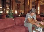 COSTA DE MARFIL 25 (YAMUSUKRO) EL HOTEL PRESIDENT EL FUE COSTRIDO SIN LIMITE DE GASTOS Y CON TODAS LAS EXTAVAGANCIAS POSIBLES EN UN PAIS TAN POBRE POR EL ARQUITECTO FRANCES ROBERT CACOUB