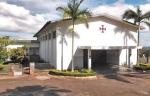 CAMERUN 137. YAUNDE. ...LA ABADIA TIENE MAGNIFICO MUSEO DE ARTE AFRICANO, LA COLECCION INCLUYE MAS DE 400 PIEZAS ENTRE, MASCARAS, ESTATUAS, INSTRUMENTOS MUSICALES, JOYAS, , MUEBLES, CERAMICA ETC. Y MAS DE 2600 FICHAS DEL JUEGO AFRICANO ABBIA