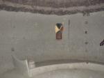 CAMERUN 92 (LA REGION DE LOS MUSGUM). LAS CASAS OBUS, EL INTERIOR SUELEN ESTAR DECORADOS CON SIGNOS EXOTERICOS