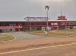 GABON 120. (FRANCEVILLE) AEROPUERTO SE ENCUENTRA 20 KM. AL OESTE, EN MUENGUE