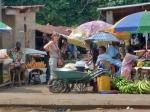 CONGO BRAZZAVILLE 33. (DISTRITO DEL PLATEAUX, POBLACION DE GAMBOMA) LA CIUDAD ESTA SITUADA EN EL CENTRO DEL PAiS, EN LA CARRETERA NACIONAL N-2 A 273 km DE BRAZAVILLE