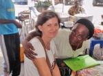 CONGO BRAZZAVILLE 54. (BRAZAVILLE CIUDAD) PETRA SE HA HECHO SUPER POPULAR EN MUY POCO TIEMPO EN LA CIUDAD