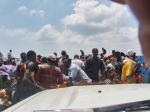 CONGO BRAZZAVILLE 55. (BRAZAVILLE, EN BARCO HACIA KINSASA) EL EMBARQUE HACIA LA REPUBLICA DEMOCRATICO DEL CONGO ES UN VERDADERO CAOS