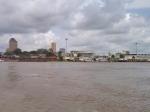 CONGO KINSASA 1. (KINSASA CIUDAD) LLEGADA AL PUERTO VINIENDO DESDE BRAZAVILLE, SE ENCUENTRA EN LA ORILLA IZQUIERDA DEL RIO CONGO