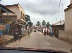 CONGO KINSASA 22. (BELVEDERE) MIENTRAS NOS LIMPIAN EL COCHE HEMOS ALQUILADO UN TAXI PARA DAR UNA VUELTA POR LA CIUDAD...