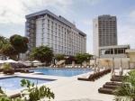 CONGO KINSASA 3. (KINSASA CIUDAD) ES TERCERA LA CIUDAD MAS POBLADA DE AFRICA, VISTA DEL GRAN HOTEL