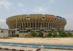 CONGO KINSASA 6 . (KINSASA CIUDAD) EL ESTADIO DE LOS MARTIRES Y ANTES  LLAMADO ESTADIO KAMANYOLA TIENE UN AFORO PARA MAS DE 80.000ESPECTADORES