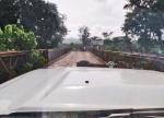 ANGOLA 1. (POR LAS PROVINCIAS DE ZAIRE Y BENGO) PUENTE SOBRE EL RIO EN LUFU O LUVO HACE FRONTERA CON EL CONGO